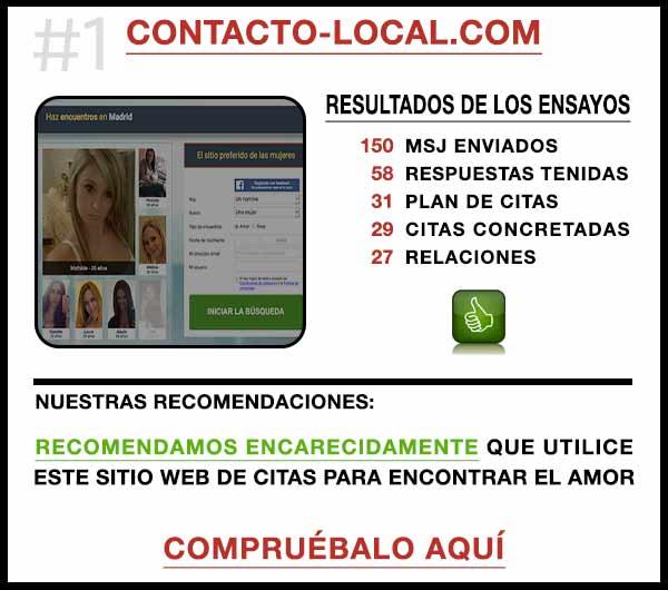 El sitio web Contacto-Local