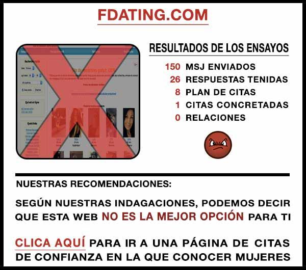 El sitio web Fdating