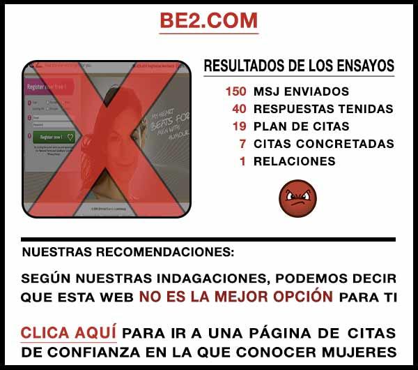 El sitio web Be2