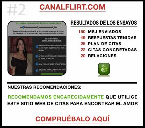 El sitio web CanalFlirt