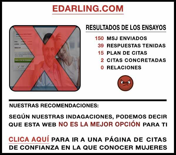 El sitio web eDarling